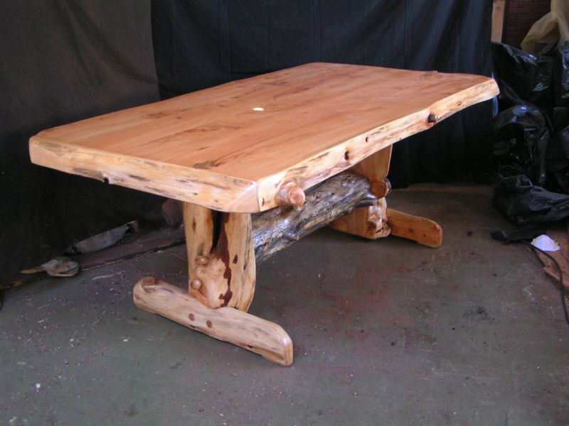 dining table rustic cypress dining table. Black Bedroom Furniture Sets. Home Design Ideas