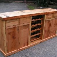 Oregon Pine cabinet with Wine Rack slot.jpg