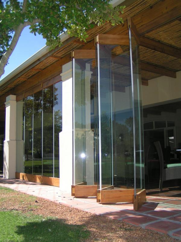 Frame Less Folding Doors Forest Creations